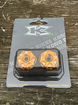KCNC MTB Bar End Plugs Cycling Handlebar Gold Barend Plug Outta My Face