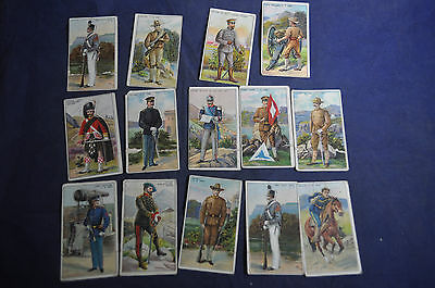 14 Different Recruit Series Little Cigars Cards