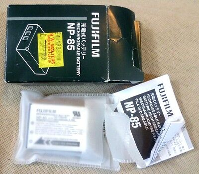 Photography - Fujifilm Rechargeable Battery NP-85 DC12- Japan - Ex Shop Stock