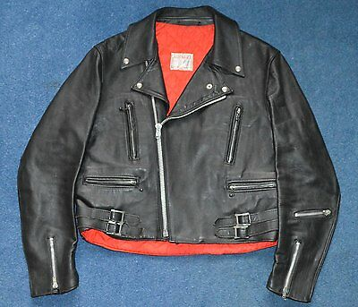 Vintage Lewis Leathers Lightning No. 391 Motorcycle Jacket near mint condition