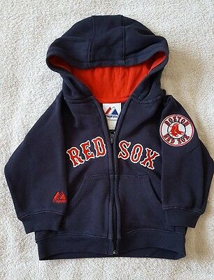 Boston Red Sox, Majestic boys hoodie - size 3T