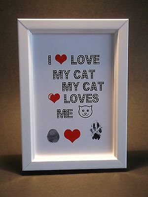 I love My Cat, My Cat Loves Me Friendship Pledge Kit. Ideal Cat Lovers!