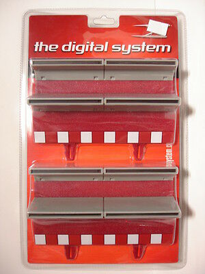 SCX Digital 20100 straight border with barrier 1/32 scale digital slot new