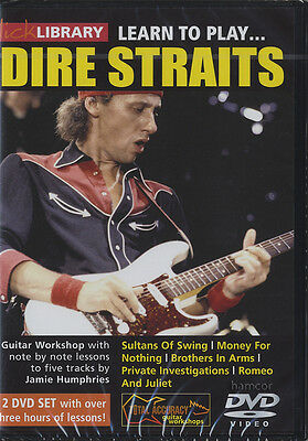 Learn to Play Dire Straits Lick Library Guitar Tutorial DVD Set Jamie Humphries