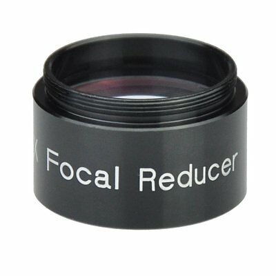 """1.25"""" 0.5x  Focal Reducer  for  Telescope Photography and Observing"""