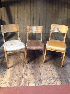 Vintage *BENTWOOD CHAIRS* X3 Small Medium & Larger RESTORATION PAINTING PROJECTS