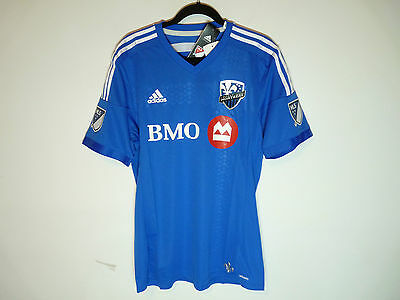 Montreal Impact adidas Authentic primary blue jersey chandail - NWT - Small