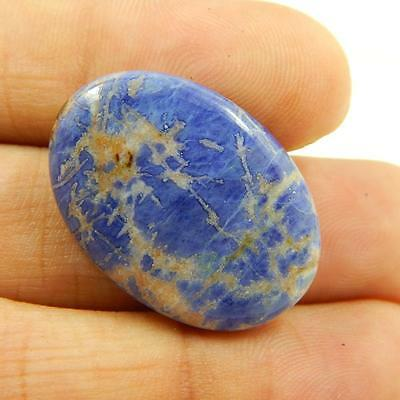 17.9 Cts 100% Natural Beautiful Sodalite Nice Blue Colour Cabochon T#1981