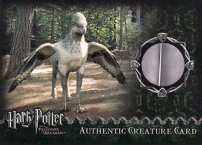 Harry Potter Prisoner of Azkaban Update Buckbeak Feather Creature Card