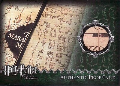 Harry Potter Prisoner of Azkaban Update The Marauders Map Prop Card