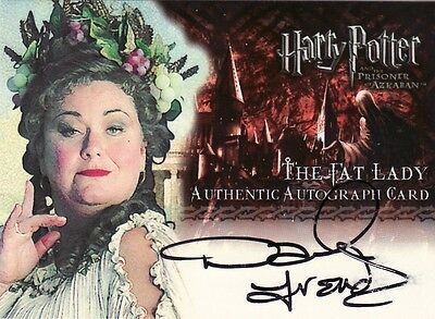 Harry Potter Prisoner of Azkaban Update Dawn French as The Fat Lady Auto Card