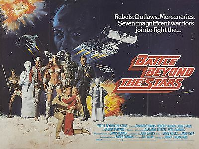 "Battle beyond the Stars 16"" x 12"" Reproduction Movie Poster Photograph"