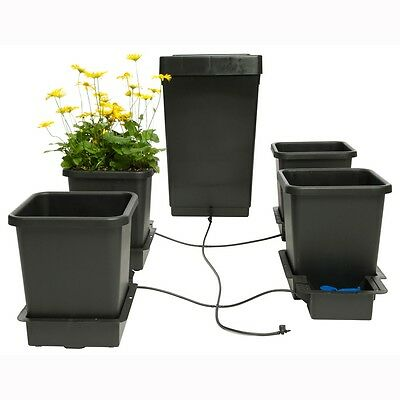 Autopot 4 Pot Grow System Kit Complete With 47 Litre Tank Hydroponics self water