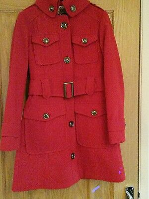 Girls Next red coat age 11-12