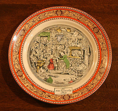 "Adams decorative plate - Charles Dickens' ""The Old Curiosity Shop"""