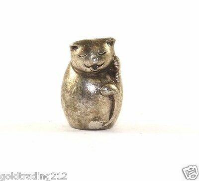 Authentic Chamilia Lucky Cat Charm 925 Sterling Ch 69