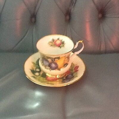 Queens China cup and saucer