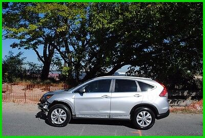2014 Honda CR-V EX-L EXL 4WD 4x4 AWD Repairable Rebuildable Salvage Wrecked Runs Drives EZ Project Needs Fix Save Big