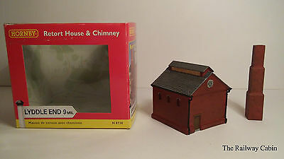 Graham Farish/Lyddle End N Gauge Building Retort House & Chimney N8738