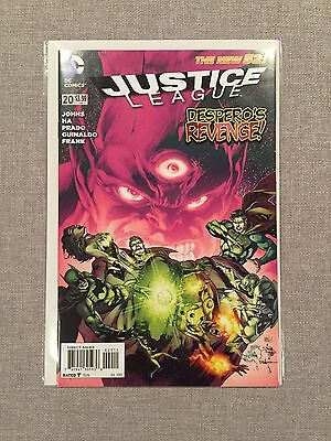 Justice League #20 First Printing NM+ New 52 DC Comics