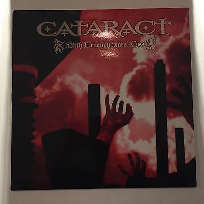 Cataract  With Triumph Comes Loss LP, Clear Vinyl / Hatebreed / Slayer