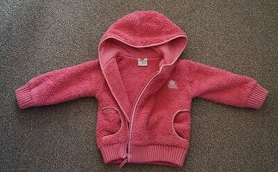 Girls Next Pink Jacket, Size : 2-3 years