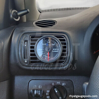 Seat Leon 1M MK1 52mm - Soporte Manometro Aireador / Gauge Holder Air Vent Pod