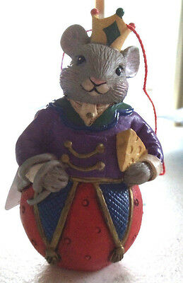 The King Mouse for Christmas Ornament
