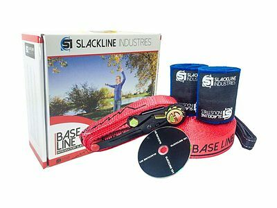 Slackline Industries Base Line - 85 FT - With Tree Protection