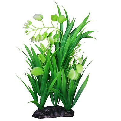 5X(Plante Aquatique de Simulation en Plastique Ornement d'Aquarium WT