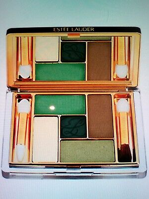 Estee Lauder Pure Color Five Colour Eye Shadow Palette  EMERALD OASIS ,NIB