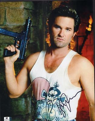 Kurt Russell Signed 'escape From New York' 14 X 11-Coa