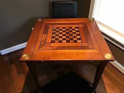 Grange Game Table - four game tops and drawer
