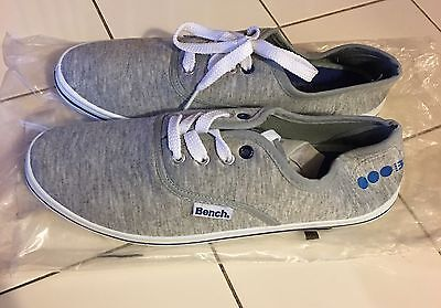 Brand New Bench Trainers Grey 5.5uk