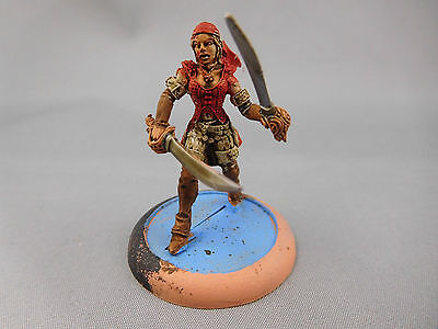 Warmachine [Mercenaries] First Mate Hawk [Metal] Painted