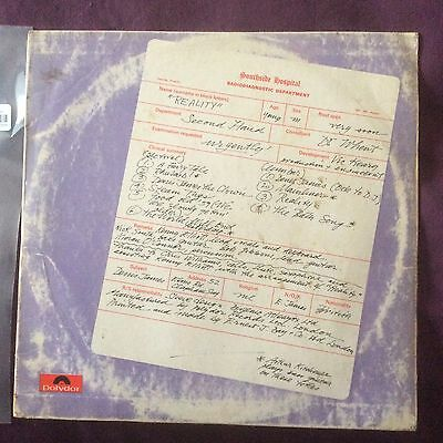 Second Hand - Reality - Polydor, Full Laminated Sleeve, Superb Psychedelic Rock!