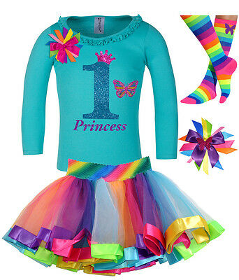Bubblegum Divas Girl First 1st Birthday Outfit Butterfly Shirt Personalized 12M