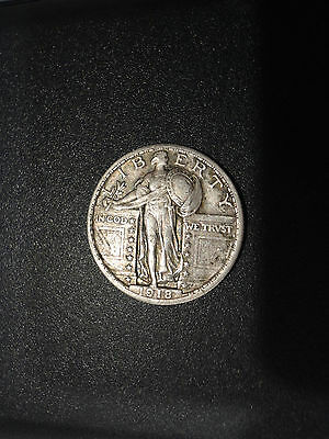 1918 Standing Liberty Silver Quarter Dollar NICE and NR L@@K