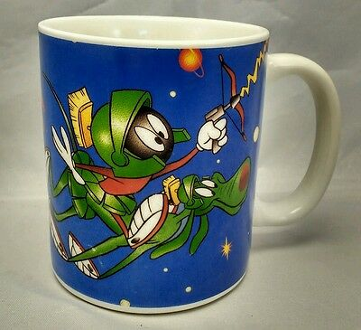 Marvin the Martian Warner Bros Looney Tunes Sagittarius 12 Ounce Blue Coffee Mug