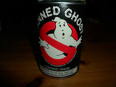 1x 1985 GHOSTBUSTERS Theater Movie Giveaway Canned Ghost Glows In the Dark