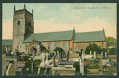 Llangynwyd Church between Maesteg & Bridgend GLAMORGAN