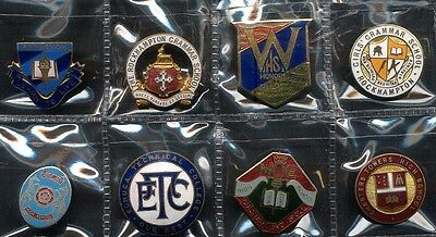 Vintage School Badge x 8, Charters Towers High School Plus