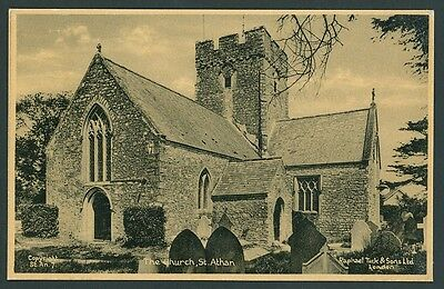 St Athan Church between Llantwit Major & Barry GLAMORGAN