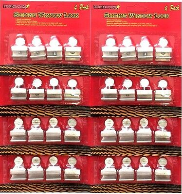 32 pc Sliding Window Locks Easy Installation High Security Safe Protect
