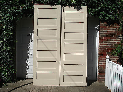 Antique Seven Panel Double Church Doors