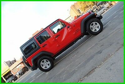 2015 Jeep Wrangler Unlimited Sport AT Automatic Repairable Rebuildable Salvage Wrecked Runs Drives EZ Project Needs Fix Save Big
