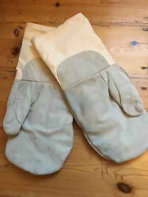 Suede Oven Gloves