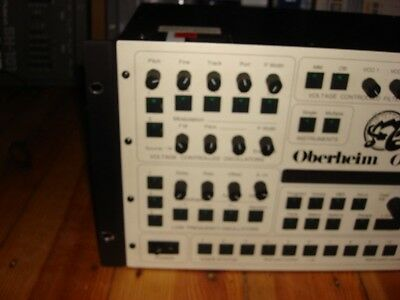 Oberheim OBMX OB MX Real Analog Rack Synth