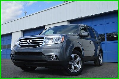 2013 Honda Pilot EX-L AWD 4WD Warranty Rear Entertainment Save Big Leather Interior Power Moonroof & Tailgate Bluetooth 3rd Row Seating Loaded +++