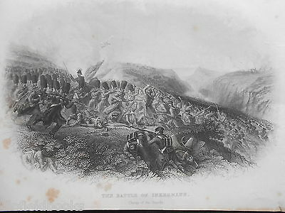 Battle of Inkerman; Charge of the Guards, c1870 - Crimean War/Military Engraving